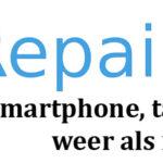 Repairable is de perfecte plek als je op zoek bent naar telefoon reparatie Tilburg!